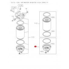 Комплект крышки топливного фильтра сепаратора